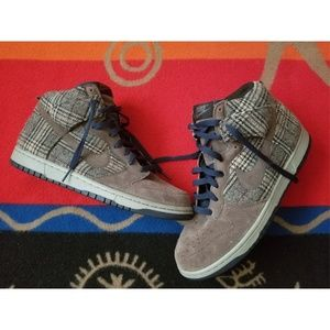 Nike SB Dunk High Performance Tweed Sneakers